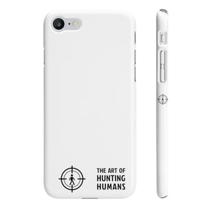 The Art of Hunting Humans - iPhone Case