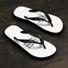 Load image into Gallery viewer, Unisex Flip-Flops - The Art of Hunting Humans