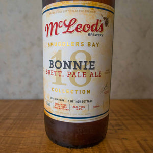 McLeod's Bonnie Brett Pale 2018 6.6% 500mL bottle - Bottle Stop