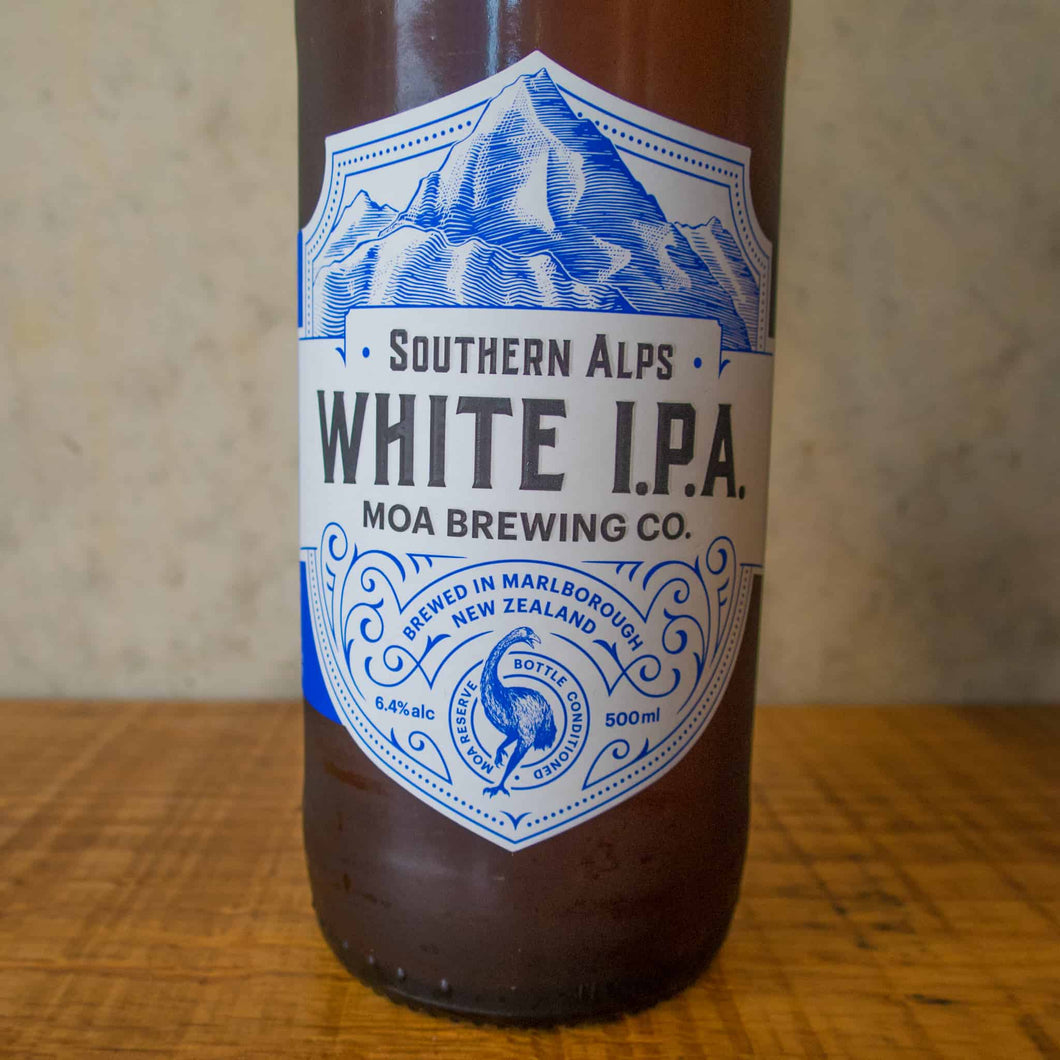 Moa Southern Alps White IPA 6.4% - Bottle Stop