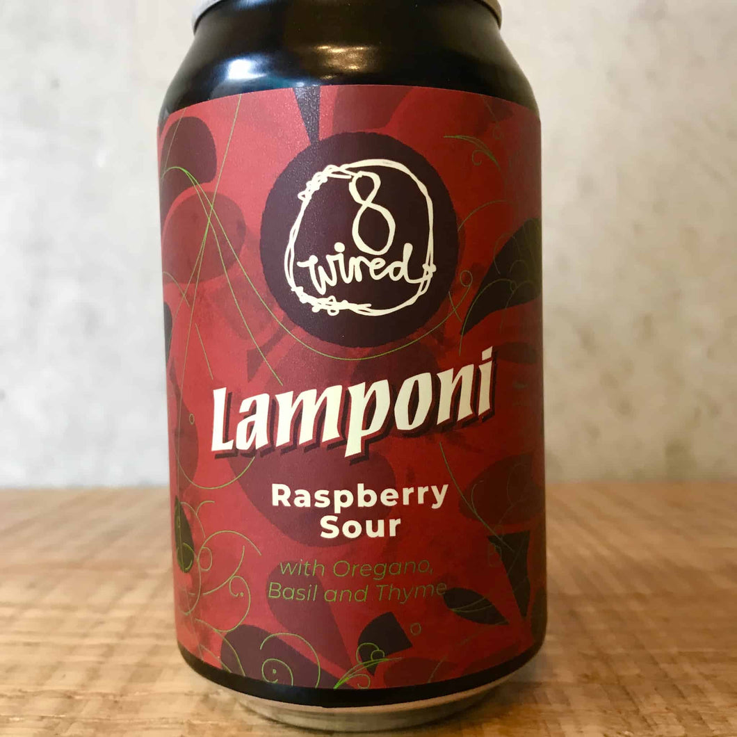 8 Wired Lamponi Raspberry Sour 5%