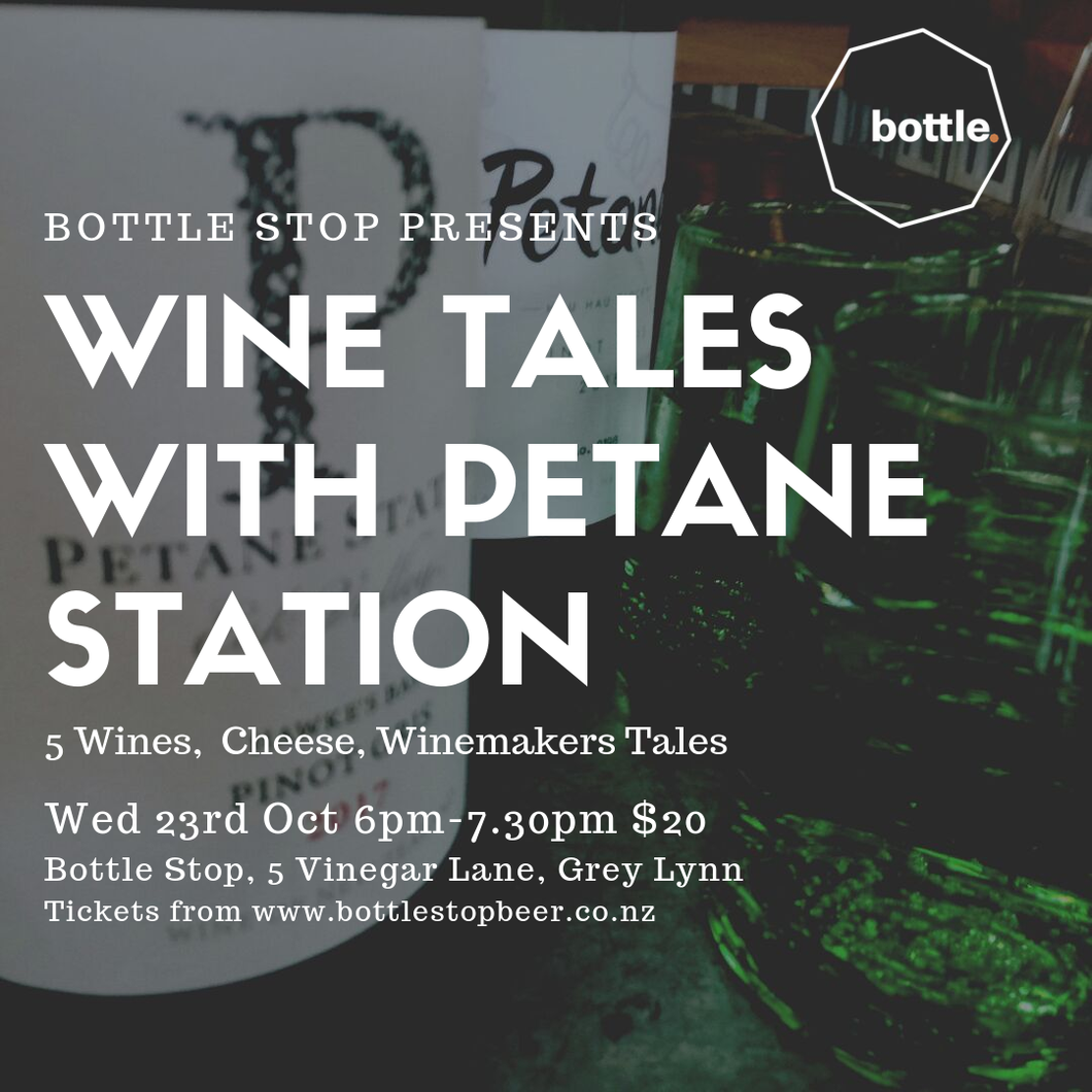 Wine Tales With Petane Station
