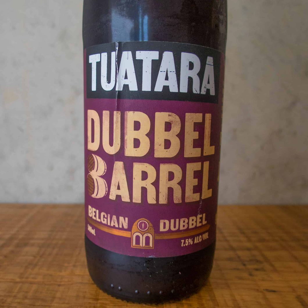Tuatara Dubbel Barrel 7.5% - Bottle Stop