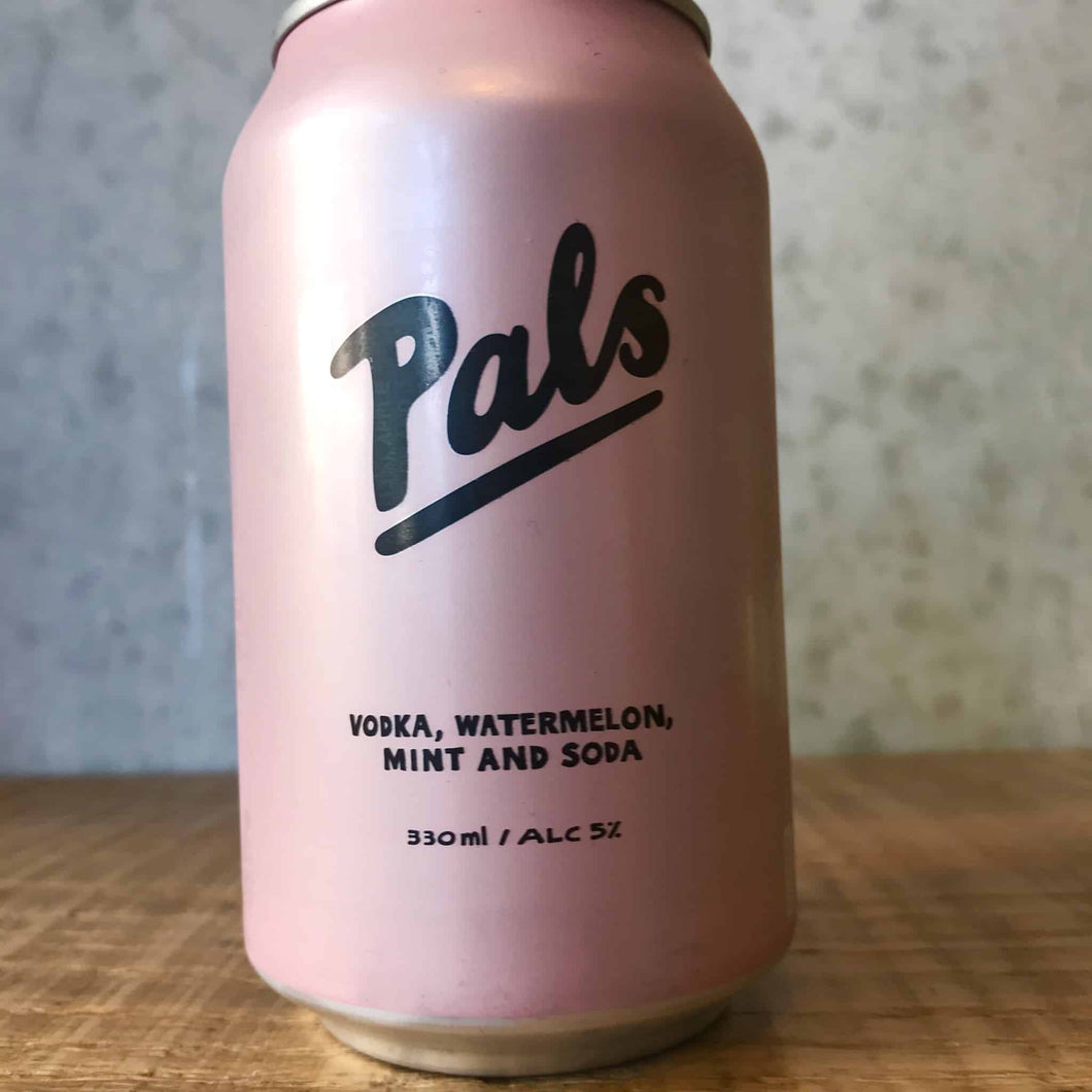 Pals Vodka Watermelon, Mint & Soda 5%