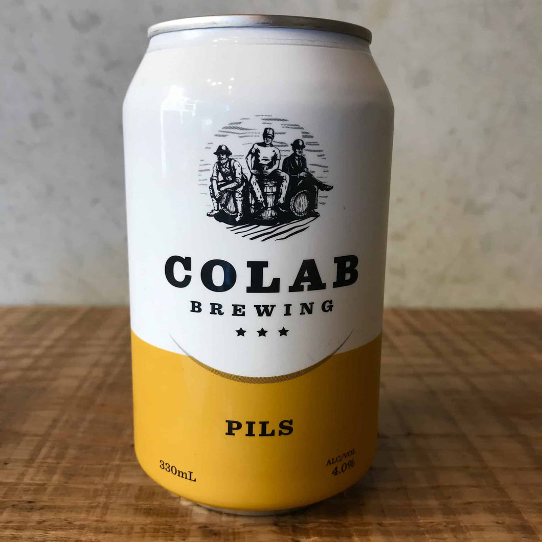 Colab Pils 4% 330ml Can - Bottle Stop
