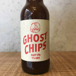 8 Wired Ghost Chips Hazy IPA 1% - Bottle Stop