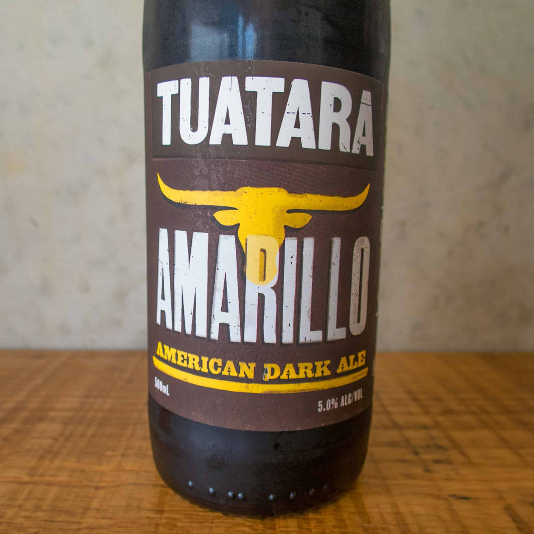 Tuatara Amarillo Dark Ale 5% - DATED BBD 16/2/19