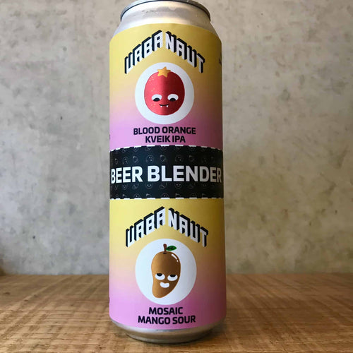 Urbanaut Beer Blender - Blood Orange Kviek IPA x Mosaic Mango Sour 2x 250ml Can