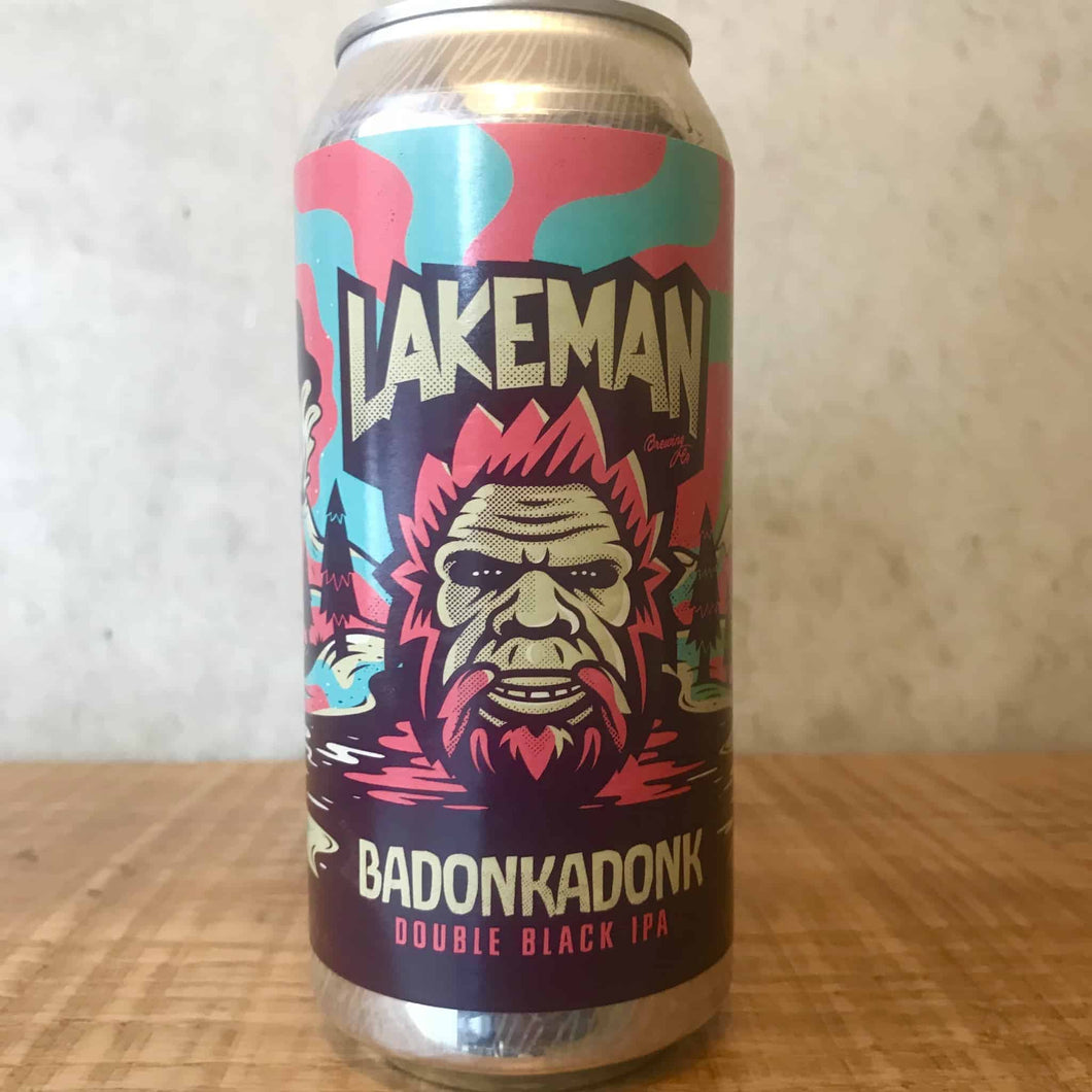 Lakeman Badonkadonk Double Black IPA 8.5% - Bottle Stop