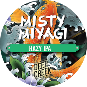Deep Creek Misty Miyagi Hazy IPA 6.5% Growler 1L - Bottle Stop