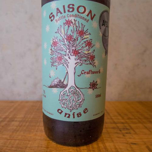 Craftwork Saison Anise 7% - Bottle Stop