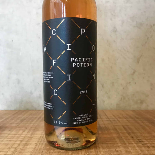 Supernatural Wine Co Pacific Potion Amber Pinot Gris 2018
