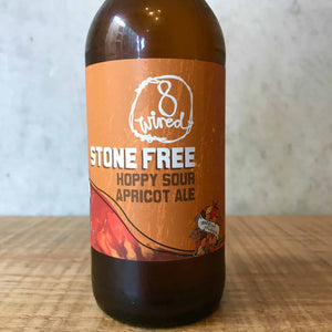 8 Wired Stone Free Apricot Sour Ale 4.5% - Bottle Stop