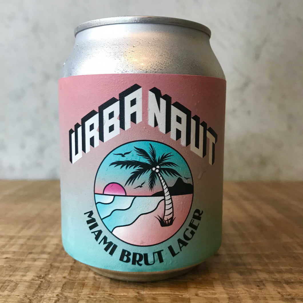 Urbanaut Miami Brut Lager 5.5% 250mL can