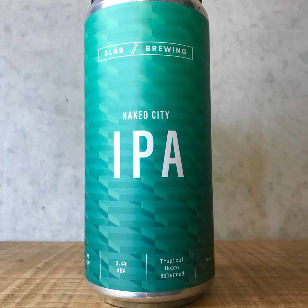 Slab Brewing Naked City IPA 5.4% 946mL