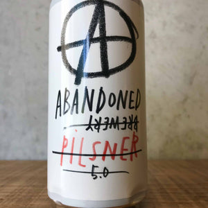 Abandoned Pilsner 5% - Bottle Stop
