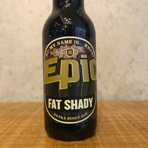Epic Fat Shady Stout 5% 330ml - Bottle Stop