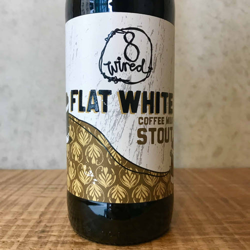 8 Wired Flat White Stout 5.5% - Bottle Stop