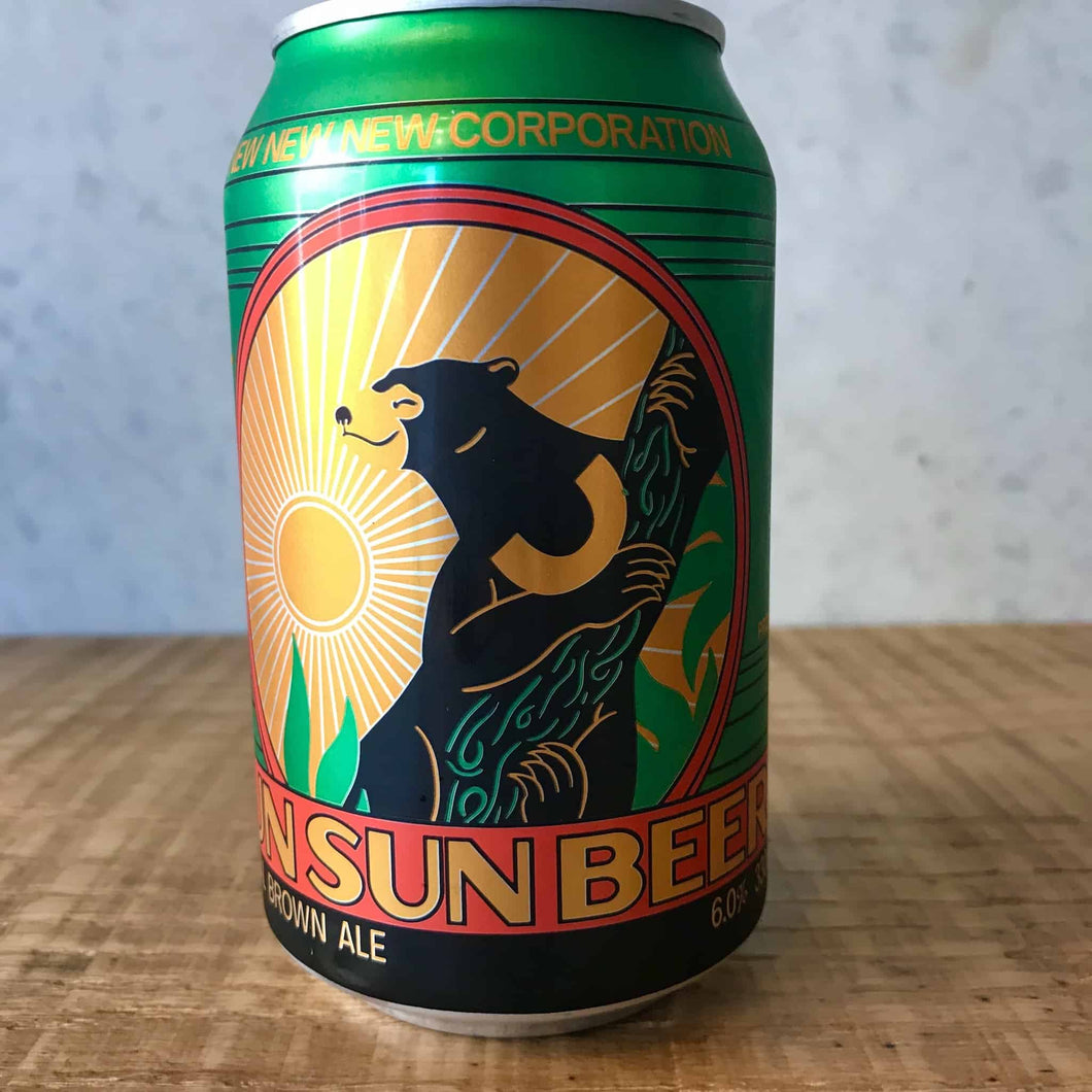 New new new Sun Sun Beer Tropical Brown Ale 6% 330mL can - Bottle Stop