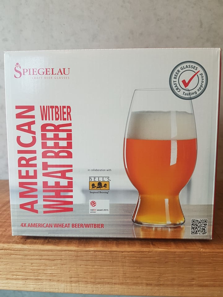 Spiegelau Craft Beer American Wheat / Witbier Glass Set of 4