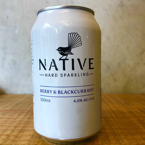 Native Hard Sparkling Berry & Blackcurrant 4.6%