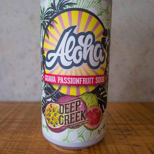 Deep Creek Aloha Guava Passion Sour 4.5% - Bottle Stop