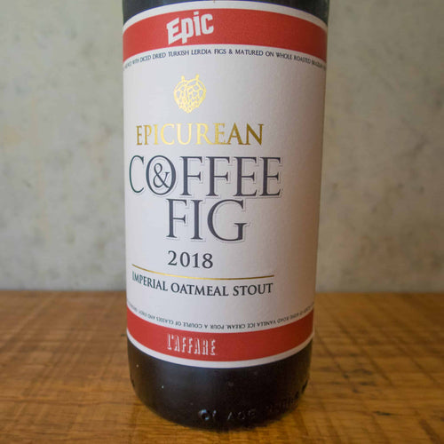 Epic Coffee & Fig Stout 8% - Bottle Stop
