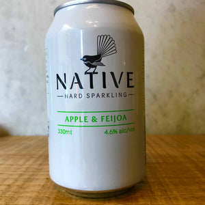 Native Hard Sparkling Apple & Feijoa 4.6%