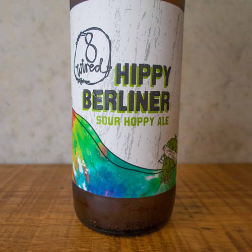 8 Wired Hippy Berliner 4% - Bottle Stop