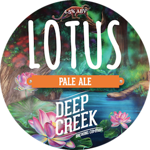 Deep Creek Lotus Pale Ale 4.5% Growler 1L - Bottle Stop