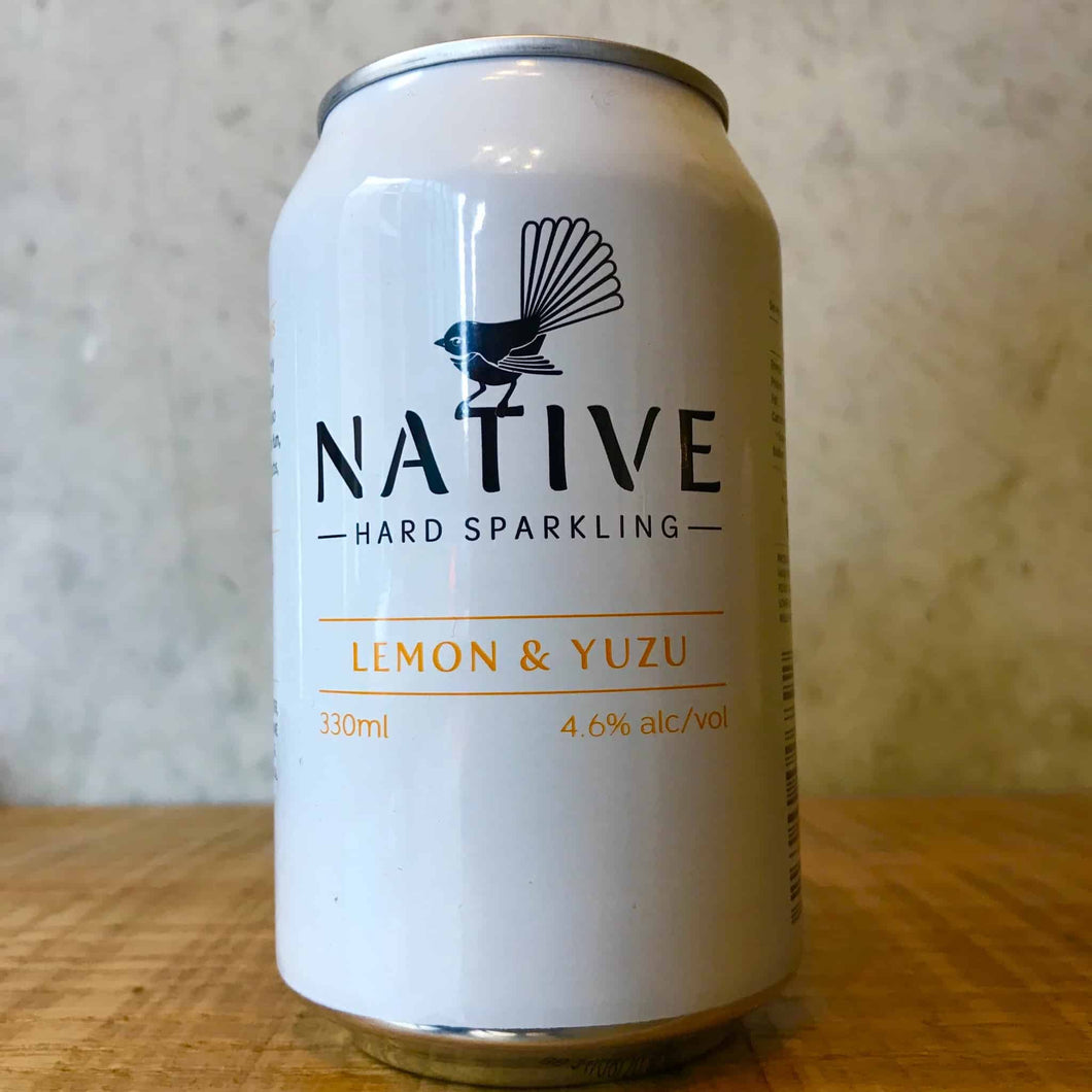 Native Hard Sparkling Yuzu & Lemon 4.6%