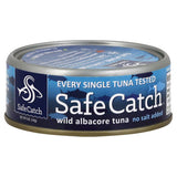 Wild Albacore Tuna (No Salt Added) Safe Catch