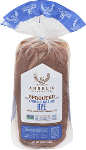 ANGELIC BAKEHOUSE SPROUTED RYE BREAD FROZEN