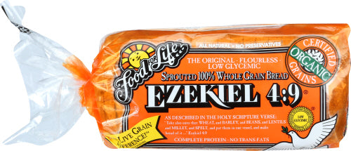 Ezekiel Bread Sprouted Grain Organic 24 OZ
