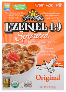 Food For Life Ezekiel Sprouted Flourless Flax