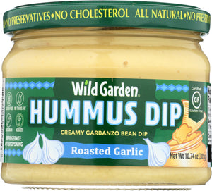 Wild Garden Hummus Dip Roasted Garlic