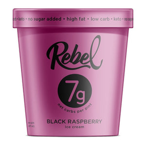 Black Raspberry Rebel Ice Cream