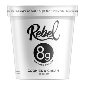 Cookies & Cream Rebel Ice Cream