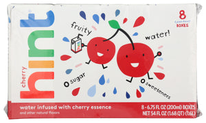 Hint Infused Cherry Kids 8 Pk