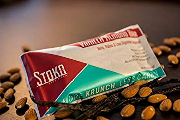 Stoka Vanilla Almond Bar