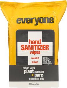 Everyone Hand Sanitizer Wipes 30 Ct