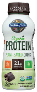 Garden of Life Chocolate Plant Protein Organic 11 FO