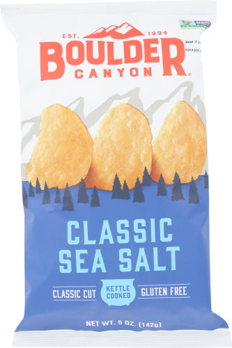 Classic Sea Salt Boulder Canyon Chips