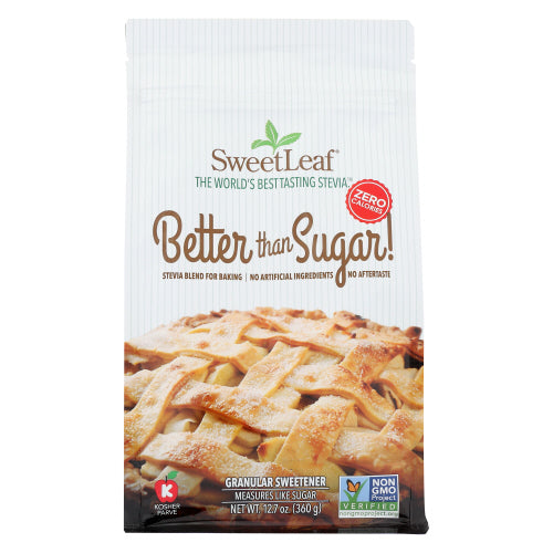 Better than Sugar Granular Stevia Blend Sweetener Sweet Leaf