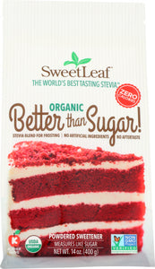 Better than Sugar Frosting Powdered Stevia Sweet Leaf