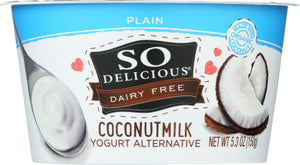 So Delicious Coconut Milk Yogurt Plain