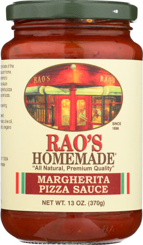Margherita Pizza Sauce Raos 13 oz