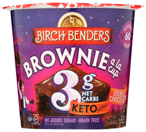 Birch Benders Double Chocolate Brownie Cup