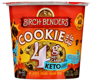 Birch Benders Chocolate Chip Cookie Baking Cup