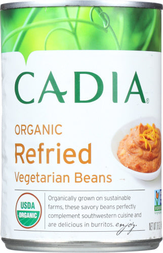 Cadia Refried Beans Organic